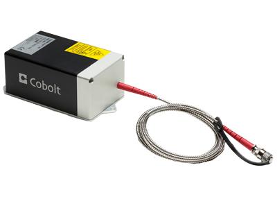 Cobolt 04-03 fiber pigtailed laser
