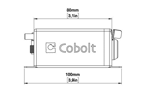 Cobolt Laser drawing