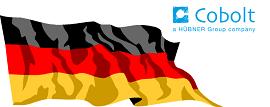 German flag Cobolt 270x107