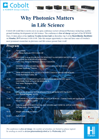 why coherence matters in life science Cobolt conference thm sm
