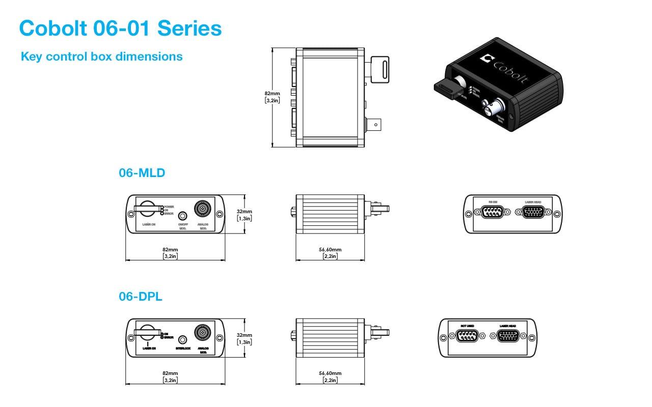 Cobolt 06-01 Series - HBNER Photonics - Lasers & THz systems