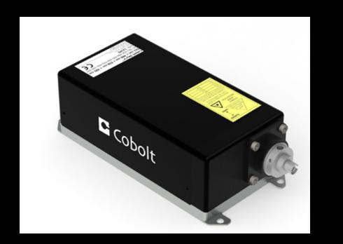 Cobolt Skyra fiber coupled