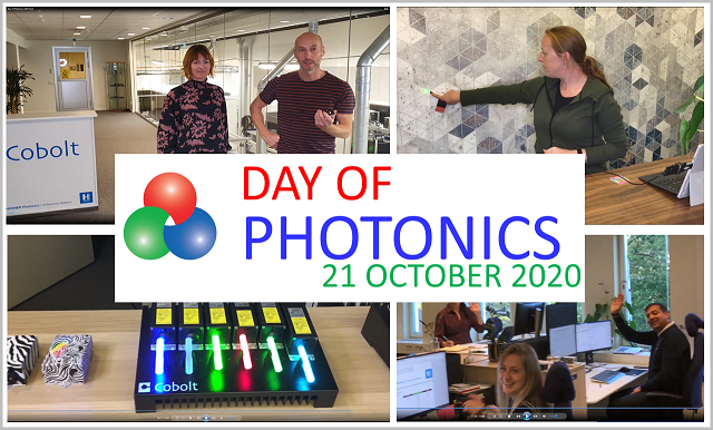 Day of Photonics Cobolt
