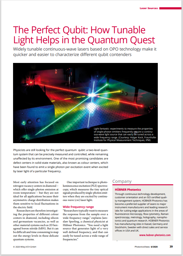 Tunable lasers quantum quest